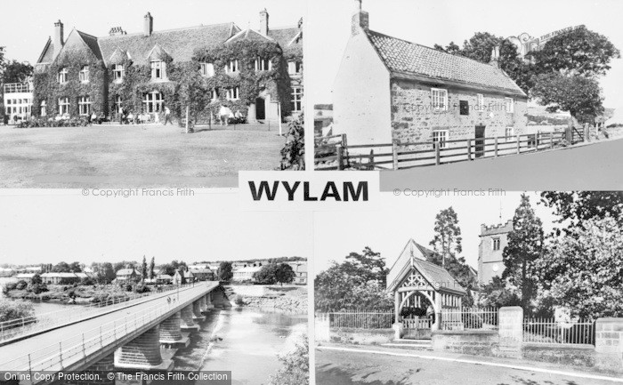 Photo of Wylam, Composite c.1955