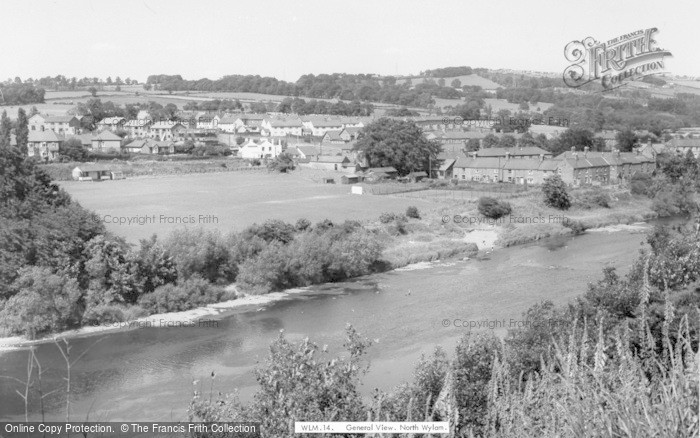 Photo of Wylam, General View, North c.1965
