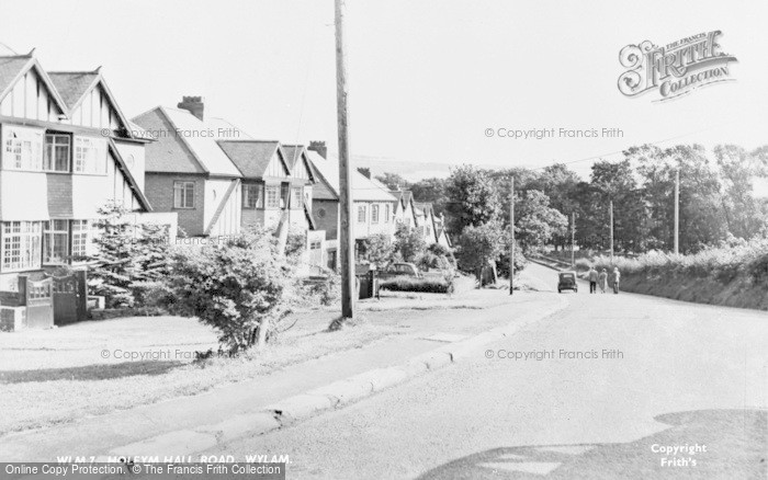 Photo of Wylam, Holeyn Hall Road c.1950