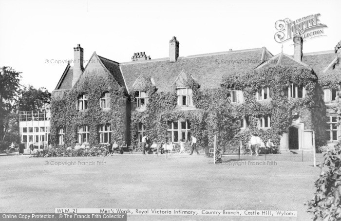 Photo of Wylam, Men's Ward, Royal Victoria Infirmary, Country Branch, Castle Hill c.1965
