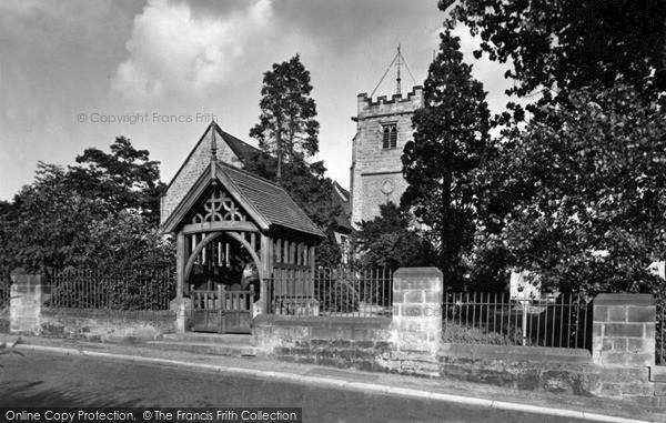 Photo of Wylam, St Oswin's Church c.1955