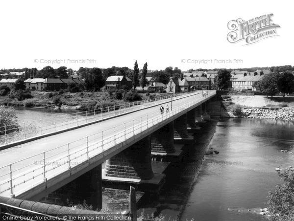 Photo of Wylam, The Bridge c.1965