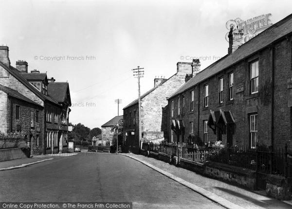 Photo of Wylam, The Main Street c.1955