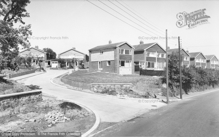 Photo of Wylam, The New Estate c.1965
