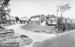 Wylam, The New Estate c.1965