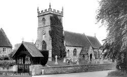 St Mary's Church c.1955, Wylye