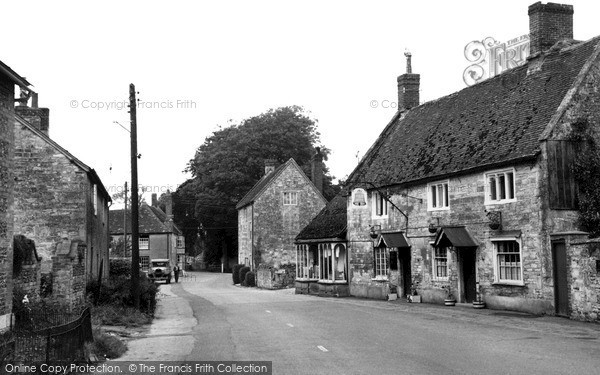 Photo of Wylye, The Bell c.1950