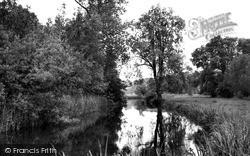 Wylye, The River Wylye c.1955