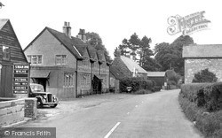 Wylye, The Swan Inn c.1955