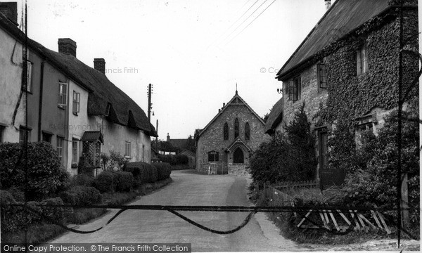 Photo of Wylye, The Village c.1950