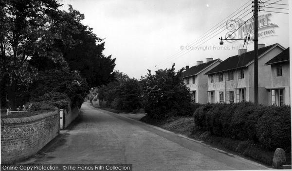 Photo of Wylye, The Village c.1955