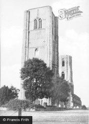 Wymondham, Abbey c.1955