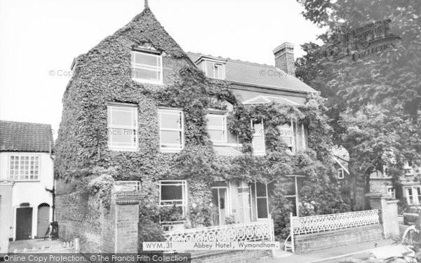 Photo of Wymondham, Abbey Hotel c.1965