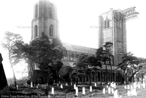 Photo of Wymondham, Abbey, North East 1891