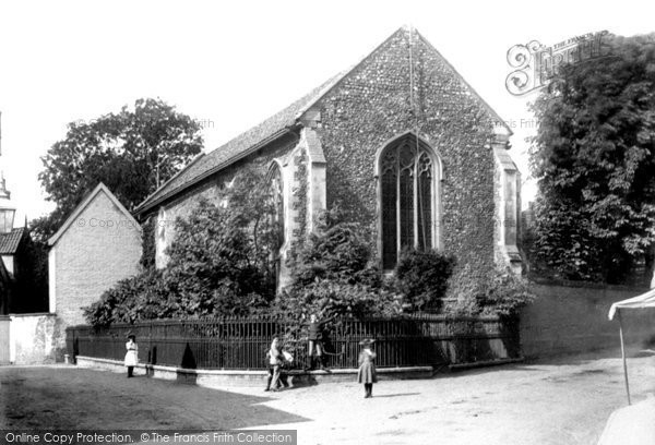 Photo of Wymondham, Becketts Chapel 1891