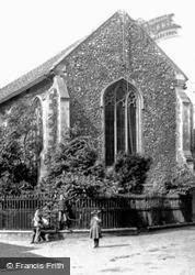 Children At Becketts Chapel 1891, Wymondham
