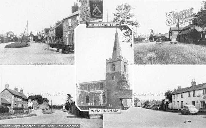 Photo of Wymondham, Composite c.1955