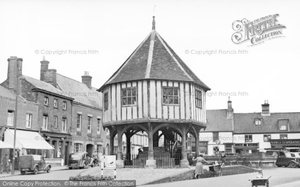 Photo of Wymondham, Market Cross c.1950