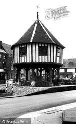 Wymondham, Market Cross c.1965