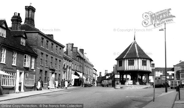 Photo of Wymondham, Market Place And Cross c.1965