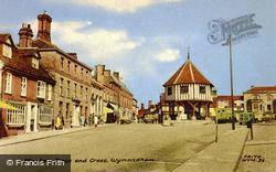 Market Place And Cross c.1965, Wymondham