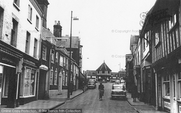 Photo of Wymondham, Market Street c.1955