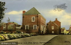 Wymondham, Priory Gardens And Post Office c.1960