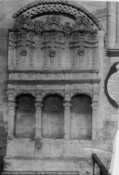 Photo of Wymondham, Sedilia In Abbey 1891