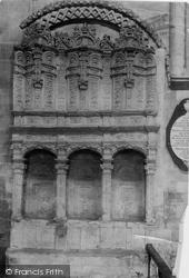 Sedilia In Abbey 1891, Wymondham