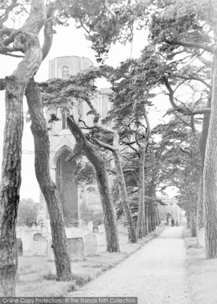 Photo of Wymondham, The Abbey c.1950