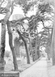 The Abbey c.1950, Wymondham