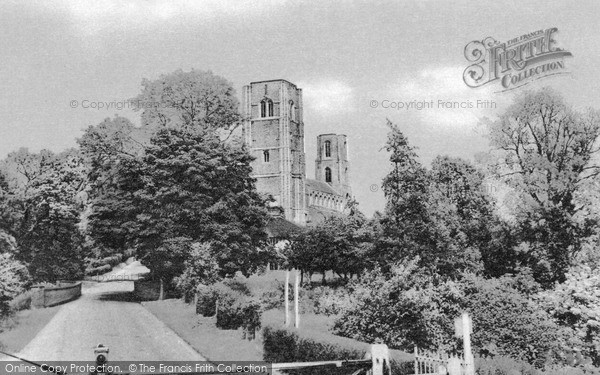 Photo of Wymondham, The Abbey c.1960