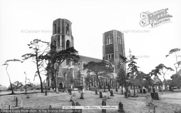 Photo of Wymondham, The Abbey c.1965