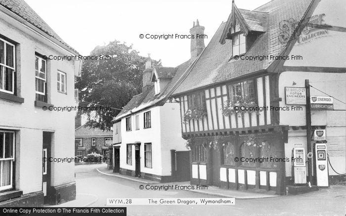 Photo of Wymondham, The Green Dragon c.1965