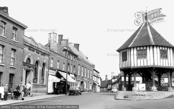 Photo of Wymondham, The Market Place And Cross c.1965