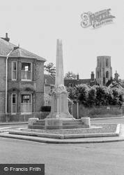 The Memorial c.1960, Wymondham