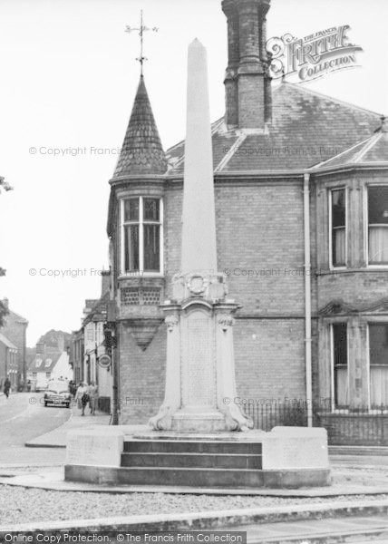 Photo of Wymondham, The War Memorial c.1950