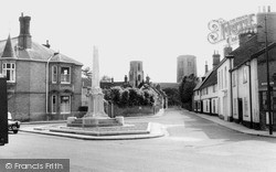 Wymondham, Town Green c.1955