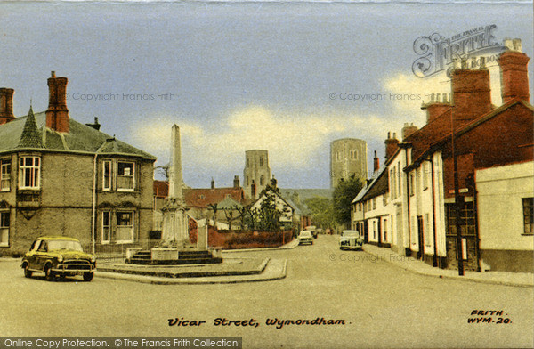 Photo of Wymondham, Vicar Street c.1960