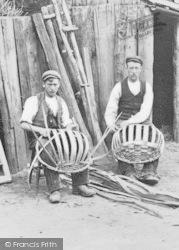 Wyre Forest, Skuttle Basket Makers c.1910
