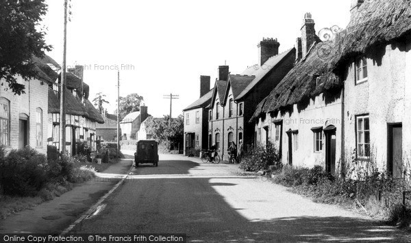 Photo of Wyre Piddle, Church Street c.1960