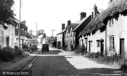 Wyre Piddle, Church Street c.1960