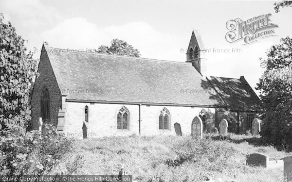 Photo of Wyre Piddle, The Church c.1960