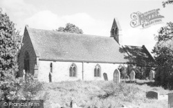 Wyre Piddle, The Church c.1960