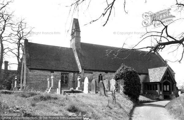 Photo of Wyre Piddle, The Norman Church c.1955