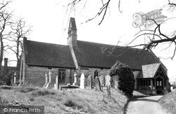 Wyre Piddle, The Norman Church c.1955