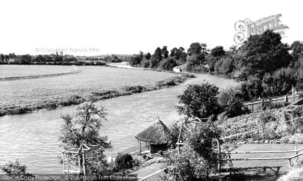 Photo of Wyre Piddle, The River Avon c.1960