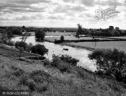 Wyre Piddle, The River Avon c.1960