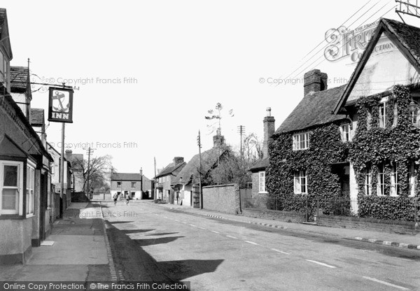 Photo of Wyre Piddle, The Village c.1955