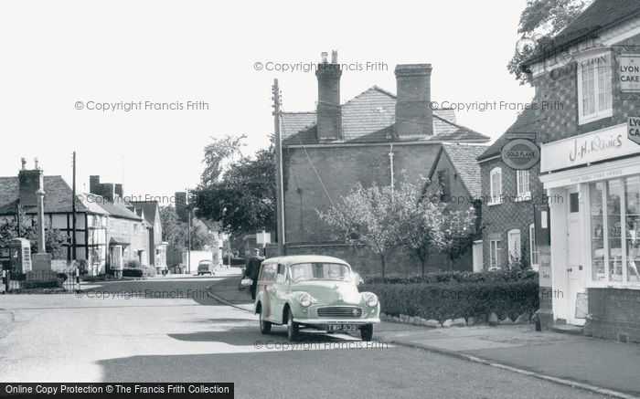 Photo of Wyre Piddle, The Village c.1960